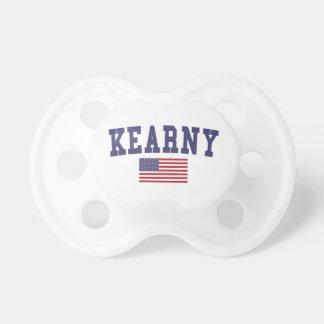 Bandera de Kearny los E.E.U.U. Chupetes De Bebe