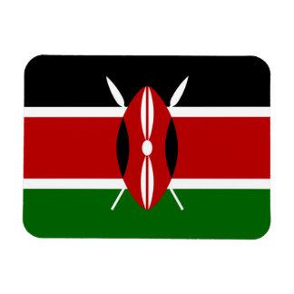 Bandera de Kenia África Imanes De Vinilo