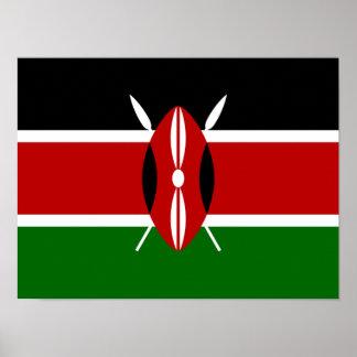 Bandera de Kenia África Impresiones