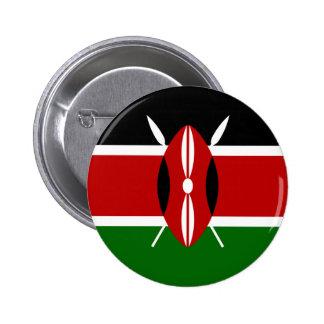 Bandera de Kenia África Pin