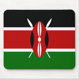 Bandera de Kenia África Tapete De Ratón
