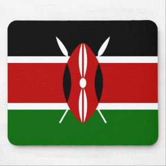 Bandera de Kenia Alfombrilla De Ratones