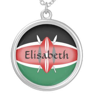 Bandera de Kenia + Collar conocido