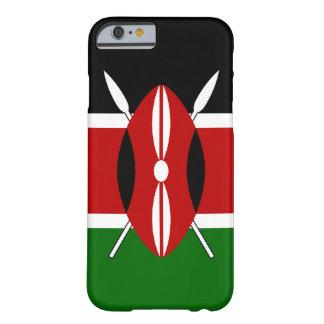 Bandera de Kenia Funda De iPhone 6 Slim