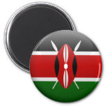 Bandera de Kenia Iman De Frigorífico