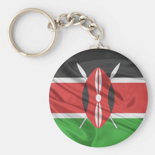 Bandera de Kenia Llaveros