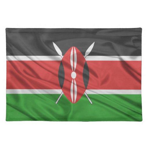 Bandera de Kenia Manteles