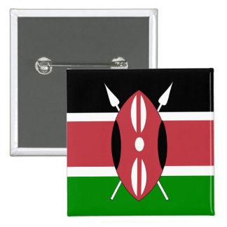 Bandera de Kenia Pin
