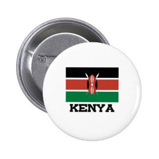 Bandera de Kenia Pins