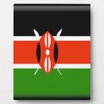 Bandera de Kenia Placas De Madera