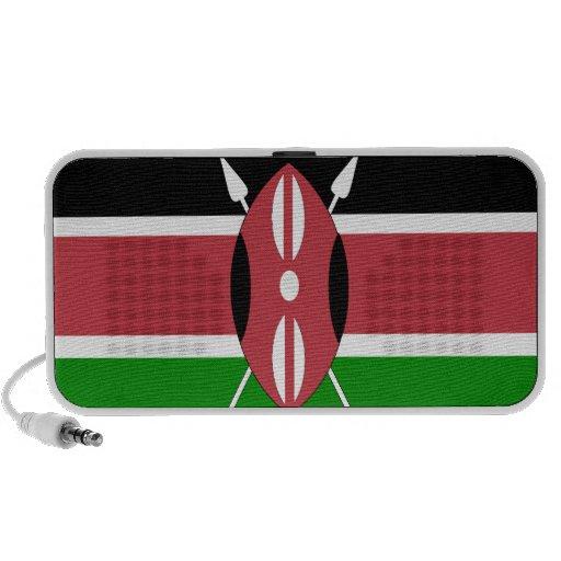 Bandera de Kenia Portátil Altavoz