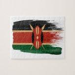 Bandera de Kenia Puzzle Con Fotos