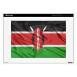 Bandera de Kenia Skins Para Portátiles