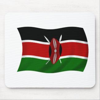Bandera de Kenia Tapete De Raton