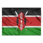Bandera de Kenia Tarjetas