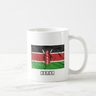 Bandera de Kenia Taza De Café