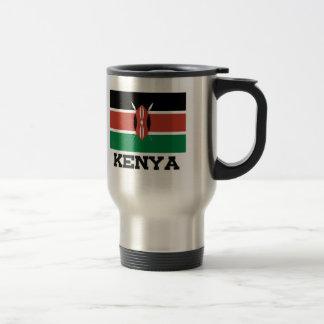 Bandera de Kenia Taza