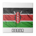 Bandera de Kenia Teja