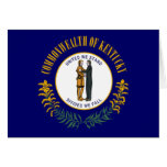 Bandera de Kentucky Felicitaciones