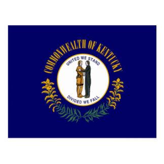 Bandera de Kentucky Postales