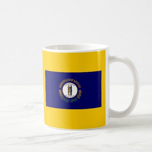 Bandera de Kentucky Tazas De Café