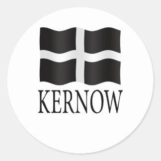Bandera de Kernow Cornualles Pegatinas