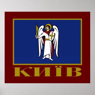 Bandera de Kiev Poster