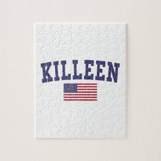 Bandera de Kingsport los E.E.U.U. Puzzle