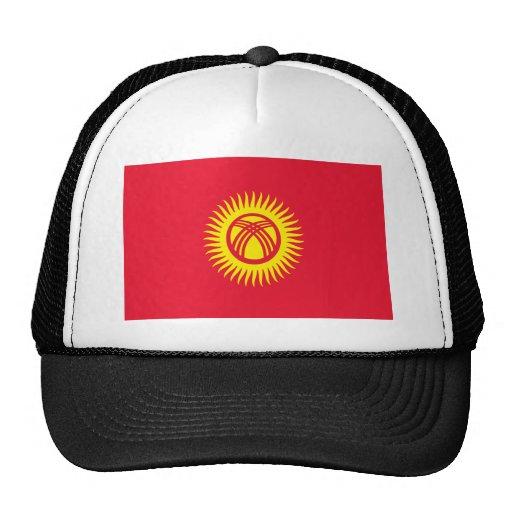 Bandera de Kirguistán Gorro
