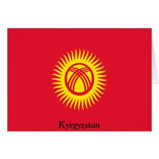 Bandera de Kirguistán Felicitaciones