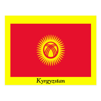 Bandera de Kirguistán Postal