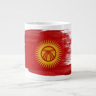 Bandera de Kirguistán Taza De Café Gigante