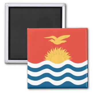 Bandera de Kiribati Imán Cuadrado