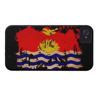 Bandera de Kiribati iPhone 4 Case-Mate Funda