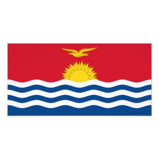 Bandera de Kiribati Arte Fotografico