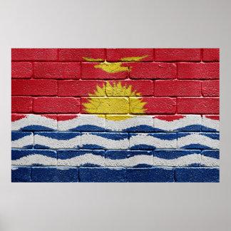 Bandera de Kiribati Póster