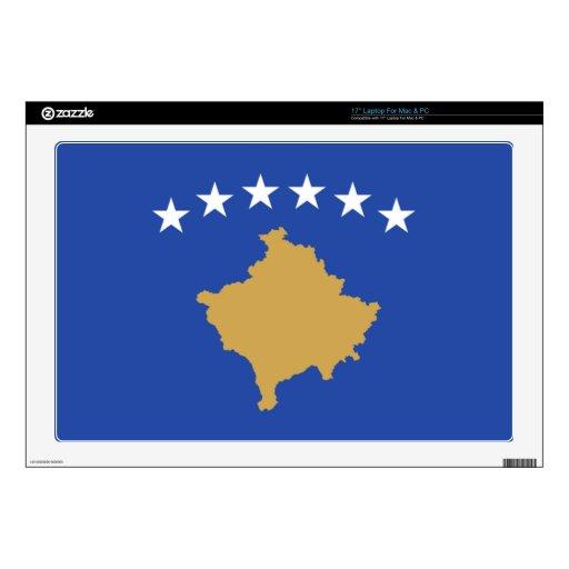 Bandera de Kosovo Calcomanías Para Portátiles