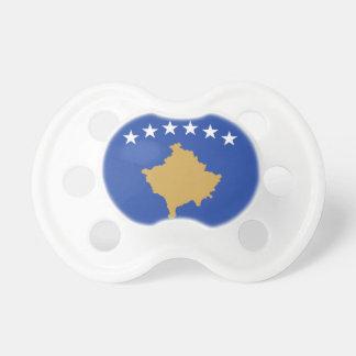 Bandera de Kosovo Chupetes Para Bebes