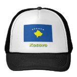 Bandera de Kosovo con nombre Gorro De Camionero