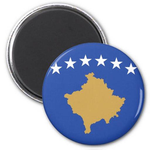 Bandera de Kosovo Imán Redondo 5 Cm