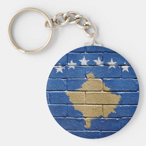 Bandera de Kosovo Llaveros Personalizados