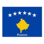 Bandera de Kosovo Postales