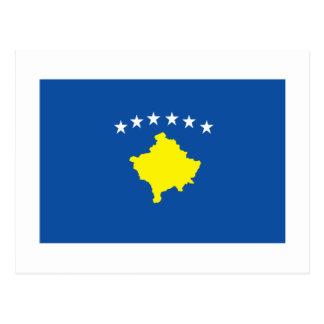 Bandera de Kosovo Tarjeta Postal