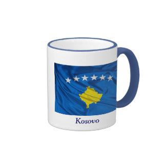 Bandera de Kosovo Taza A Dos Colores