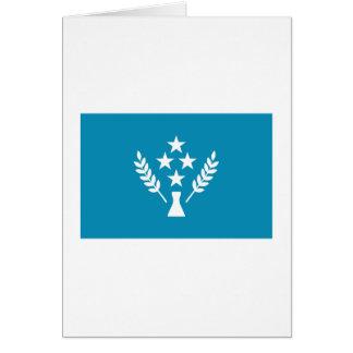 Bandera de Kosrae Tarjeta De Felicitación