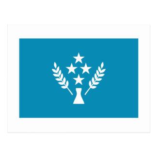 Bandera de Kosrae Tarjetas Postales
