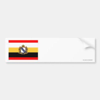 Bandera de Kursk Oblast Pegatina Para Auto