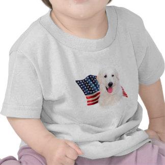 Bandera de Kuvasz Camisetas