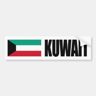 Bandera de Kuwait Pegatina Para Coche