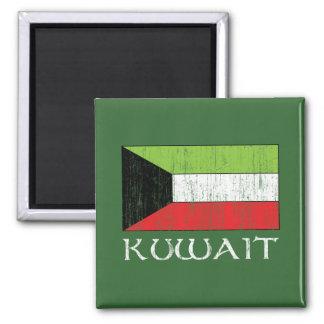 Bandera de Kuwait Imán Cuadrado